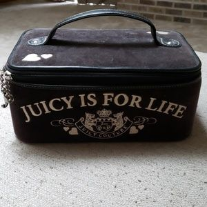 Juicy Couture train case